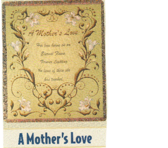 Mother's Love Throw in Oakland City IN, Sue's Flowers & Gifts