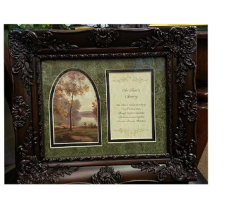 An Aunt's Memory Frame in Hendersonville TN, Brown's Florist
