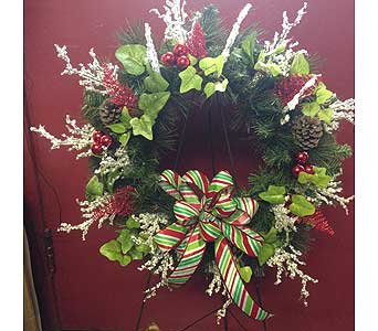 Artificial Pine Wreath in Portsmouth OH, Kirby's Flowers