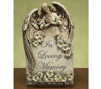 In Loving Memory Plaque in Bradenton FL, Ms. Scarlett's Flowers & Gifts