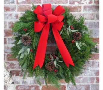 Classic Maine Wreath in Portland ME, Sawyer & Company Florist