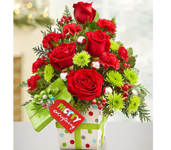 Merry Everything Present Bouquet in Elk Grove CA, Flowers By Fairytales