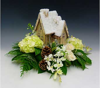 I'll Be Home For Christmas in Kirkland WA, Fena Flowers, Inc.