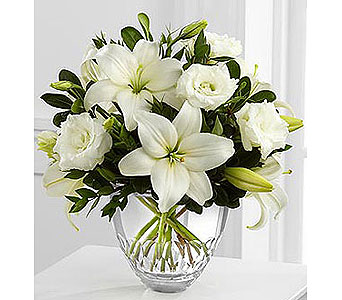 White Elegance Bouquet by Vera Wang in New York NY, CitiFloral Inc.