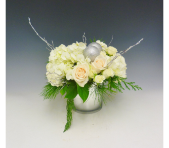 Silver Celebration in Kirkland WA, Fena Flowers, Inc.