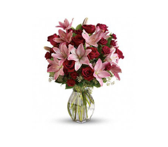 Lavish Love Bouquet with Long Stemmed Red Roses in Palm Springs CA, Palm Springs Florist, Inc.