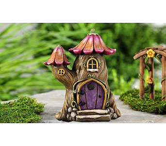 Miniature Garden Fairytale Tree House in Guelph ON, Patti's Flower Boutique