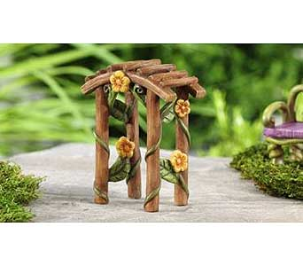 Miniature Garden Fairytale Arbor Decor in Guelph ON, Patti's Flower Boutique