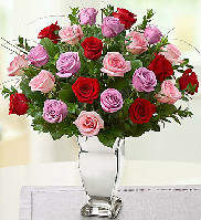 Valentine Rose Medley in Round Rock TX, Heart & Home Flowers