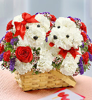 Love Pup in Round Rock TX, Heart & Home Flowers