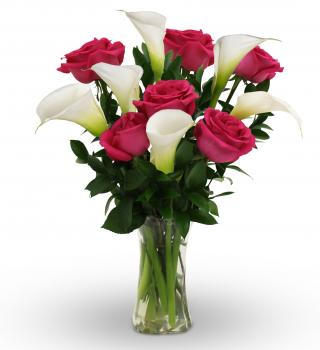 Callas and Roses in Largo FL, Rose Garden Florist