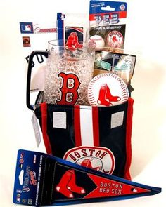 sports themed basket in Needham MA, Needham Florist