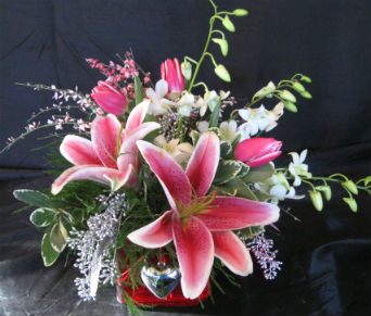 Fiery Lady in Farmington CT, Haworth's Flowers & Gifts, LLC.