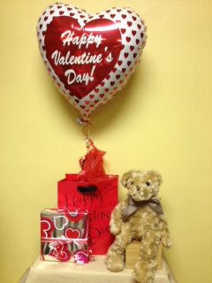 Plush Bear, Chocolates, Mylar in Jensen Beach FL, Brandy's Flowers & Candies