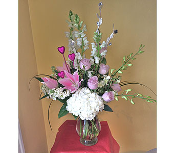 Sparkling Love Bouquet in Hales Corners WI, Barb's Green House Florist