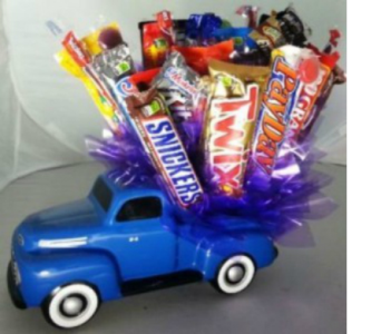 Truckload of Candy Bouquet in Crown Point IN, Debbie's Designs