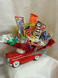 Chevy Candy Bouquet in Crown Point IN, Debbie's Designs
