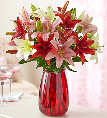 Lovely Lilies in Round Rock TX, Heart & Home Flowers