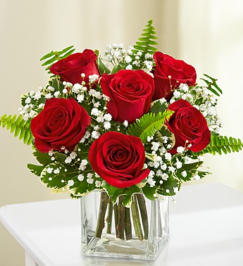 Love's Embrace� Roses - Red in Round Rock TX, Heart & Home Flowers