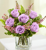Love's Embrace� Roses � Purple in Round Rock TX, Heart & Home Flowers