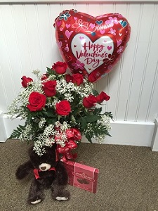 Valentine Surprise in Princeton NJ, Perna's Plant and Flower Shop, Inc