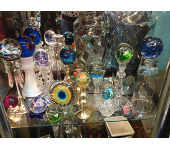 More Glass Art in Bellefontaine OH, A New Leaf Florist, Inc.