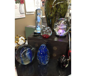 Glass Weights in Bellefontaine OH, A New Leaf Florist, Inc.