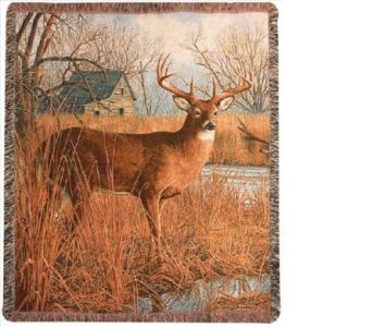 His Side of the River Tapestry Throw in Hollidaysburg PA, Warner's Florist Gifts & Greenhouse