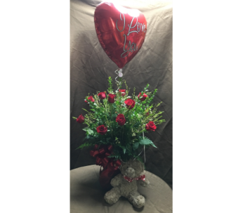 Valentine�s Day 3-in-1 Package in Wake Forest NC, Wake Forest Florist