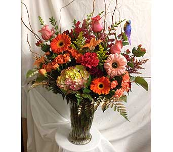 Whimsical Mix in Rancho Cordova CA, Roses & Bows Florist Shop