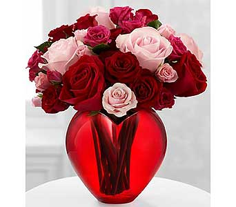 My Heart to Yours� Rose Bouquet by FTD� - VASE INC in Avon OH, The Hen 'N The Ivy