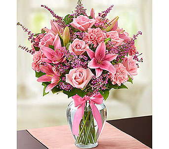 Expressions of Pink� in Grand Rapids MI, Rose Bowl Floral & Gifts