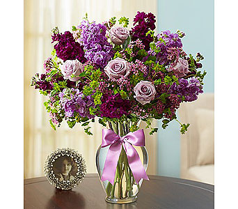 Shades of Purple in Grand Rapids MI, Rose Bowl Floral & Gifts