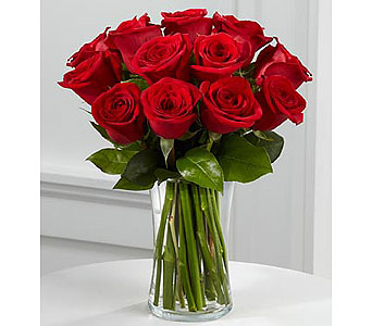 True Love Rose Bouquet in Grand Rapids MI, Rose Bowl Floral & Gifts