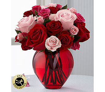 The My Heart to Yours� Rose Bouquet by FTD� in Grand Rapids MI, Rose Bowl Floral & Gifts