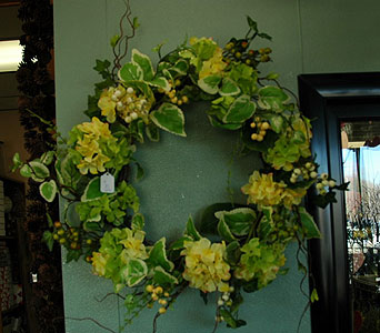 Wreath in Northfield MN, Forget-Me-Not Florist