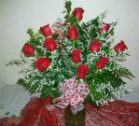 Archer's 1 Dozen Red Roses in Huntington WV, Archer's Flowers and Gallery