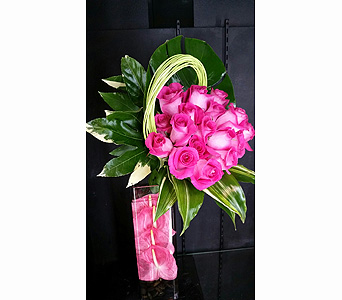 Hot Pink Love in Las Vegas-Summerlin NV, Desert Rose Florist