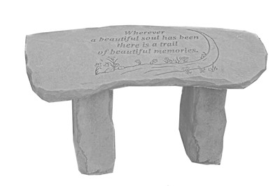 Sympathy Bench in Fond Du Lac WI, Haentze Floral Co