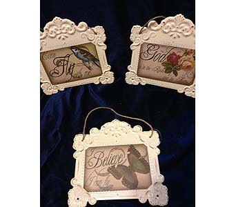 Nature''s Embossed Plaques in Fayetteville GA, Our Father's House Florist & Gifts