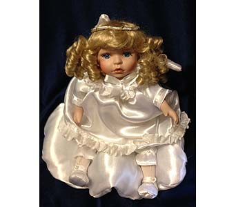 Musical Porcelain Doll in Fayetteville GA, Our Father's House Florist & Gifts