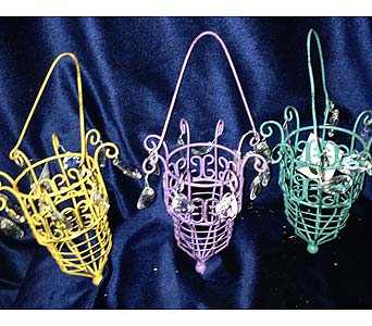 Wire Tealights Ornaments in Fayetteville GA, Our Father's House Florist & Gifts