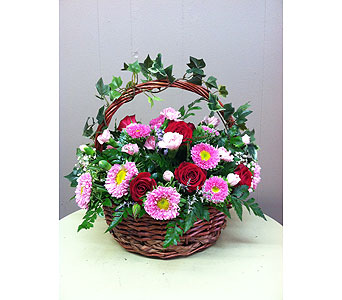 Basket of Blooms in Creedmoor NC, Gil-Man Florist Inc.
