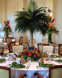 Palm Tree Centerpiece in Stuart FL, Harbour Bay Florist