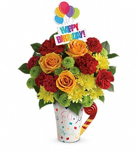 Teleflora's Fun 'n Festive Bouquet in Chatham ON, Pizazz!  Florals & Balloons