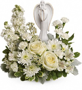 Teleflora's Guiding Light Bouquet in The Woodlands TX, Rainforest Flowers