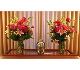 Lily & Roses Vases in Richboro PA, Fireside Flowers