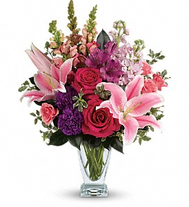 Teleflora's Morning Meadow Bouquet in Plantation FL, Pink Pussycat Flower Shop