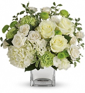 Teleflora's Shining On Bouquet in Bluffton IN, Posy Pot