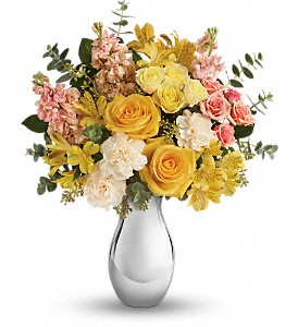 Teleflora's Soft Reflections Bouquet in Hollister CA, Precious Petals